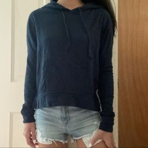lightweight hoodie top
